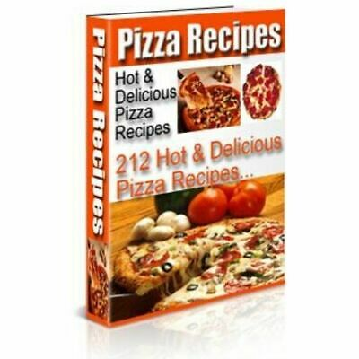 Pizza Pecipes Sauce Cookbook Easy Making Secret Ebook Best Sellers New Book...