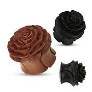 Wood Carved Flowers