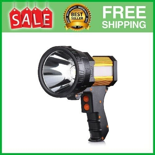 Rechargeable Spotlight,Spot Lights Hand Held Large Flashlight 6000 And - $35.87