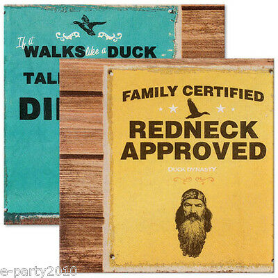 DUCK DYNASTY LUNCH NAPKINS (16) ~ Birthday Party Supplies Dinner Large Robertson