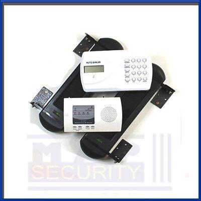 Solar Powered FARM BARN 100m Beam, Receiver & Auto Dialer Alarm System (2) UK!!! Auto Dialer-alarm-system