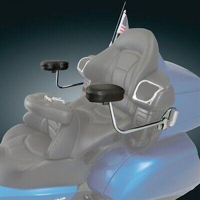 Show Chrome Accessories 52-672 Deluxe Passenger Armrest System For Honda GL1800 ()