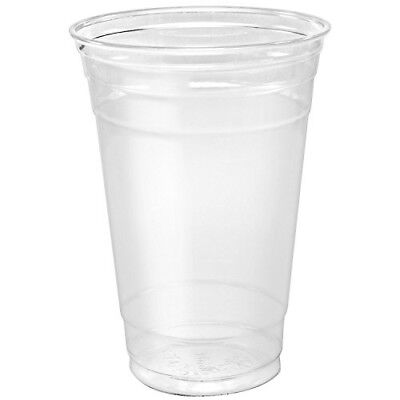 Solo Foodservice Dart Ultra Clear Conex TP20 PET Plastic Cold Cup, 20