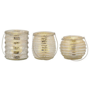 TEALIGHT-CANDLE-HOLDERS-FLAMELESS-NEW-GLASS-DECORATIVE-HOLDER-W-CANDLES-SET-OF-3