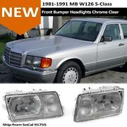 W126 Headlights
