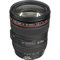 New - Canon EF 24-105mm f/4 L IS USM Lens - perfect condition