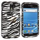 Samsung Galaxy s II Case Tmobile Zebra