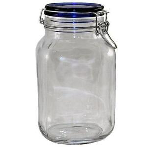 large glass jar with lid - Large Glass Jars With Lids