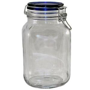 Glass Storage Containers. Home. Kitchen & Dining. Kitchen Storage & Organization. Food Storage. Ball Regular Mouth Collection Elite Half-Pint Glass Jam Jars with Bands and Lids, 8 oz., 4 Count. See Details. Product - Rubbermaid 9 Cup Premier Food Storage Container, Grey. Product Image.