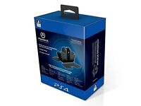 PS4 Dual Controller Charging Station with A/C Adapter