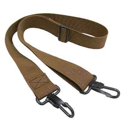 Condor 232 BROWN 2 Point Tactical Shoulder Strap .223 Rifle Gun Sling Adapter