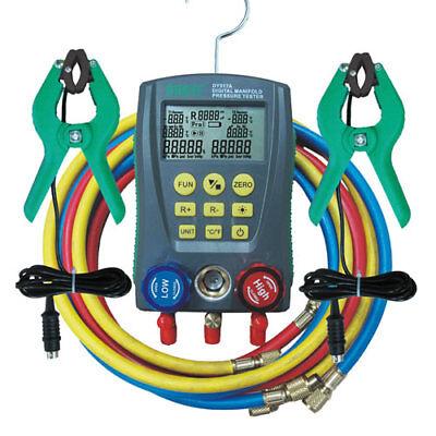 Dy517a Digital Manifold Gauge Refrigeration Pressure Tester Hvac System