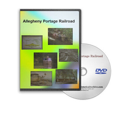 The Story of the Allegheny Portage Railroad DVD Pennsylvania C329