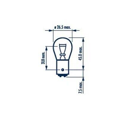 10 Glühlampe, Blinkleuchte NARVA 17925