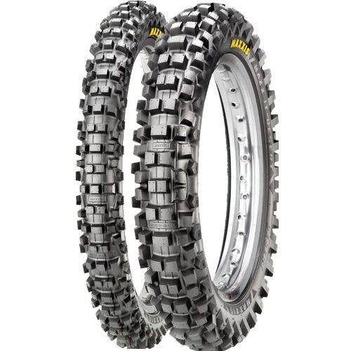 Maxxis MaxxCross IT Tyres PAIR - 120/100-18 + 90/90-21 Rd Legal Enduro MX WRF