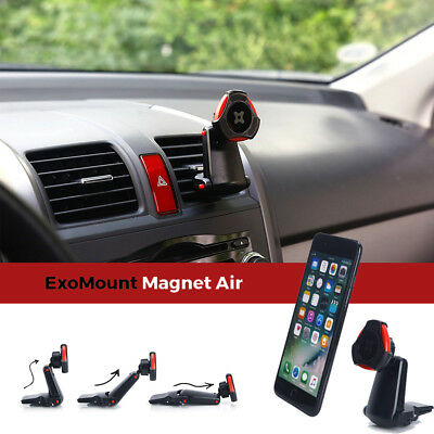 Exogear Exomount Magnet Air Vent Car Mount Cellphone Holder iPhone 8 7 7S Plus 6
