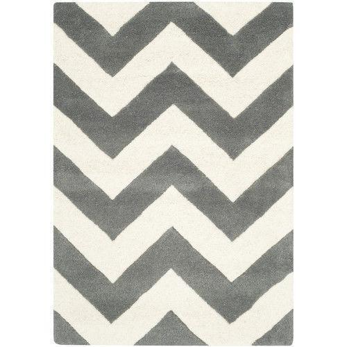 Grey Chevron Rug Ebay