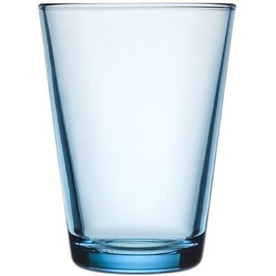 Iittala Kartio 13.5-Ounce Tumbler Light Blue, Set of 2, New, Free Shipping