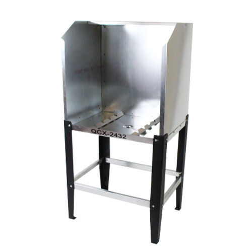 Quick Clean QCX-2432 Econo Washout Booth - without A.B. - screen printing tank