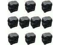 False Coals For Gas Fire x 10 (Large Size)