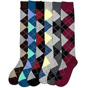 Womens Argyle Socks
