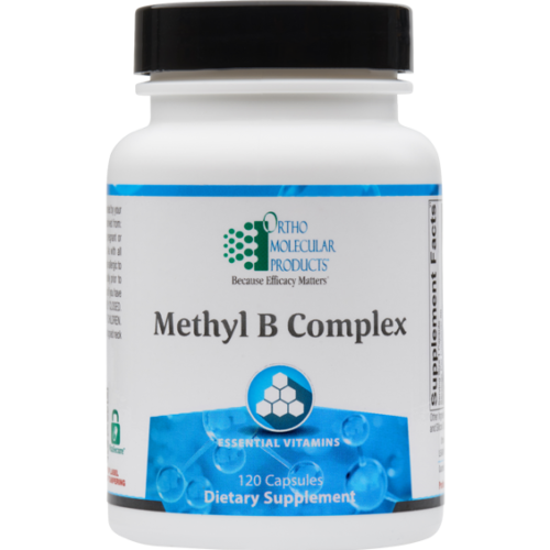 NEW* Ortho Molecular- METHYL B COMPLEX -120 capsules 12/20 Free Shipping