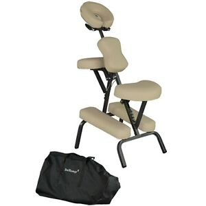 Cream New 4 Portable Massage Chair Tattoo Spa Free Carry Case Facial Beauty C88
