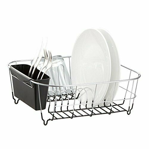 Dish Drying Rack Sink Drainer Kitchen Holder Stainless Steel