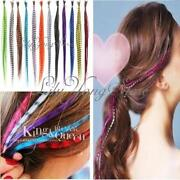 Rainbow Feather Hair Extensions