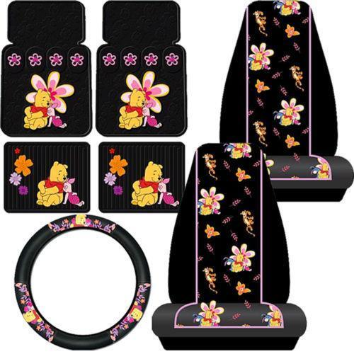 Winnie The Pooh Baby Car Seat Covers