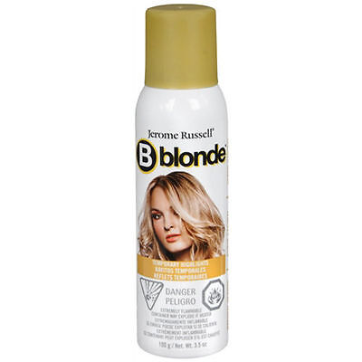 Jerome Russell B Blonde Natural Blonde Temporary Highlight Spray 3.5