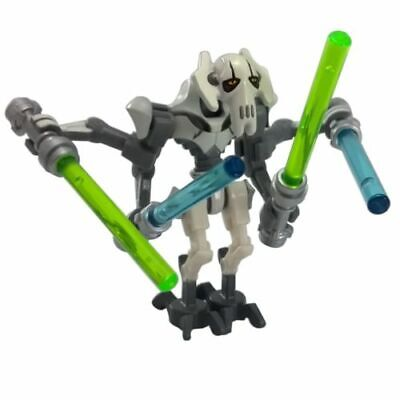 NEW LEGO STAR WARS GENERAL GRIEVOUS Minifigure 75040 75199 Complete.