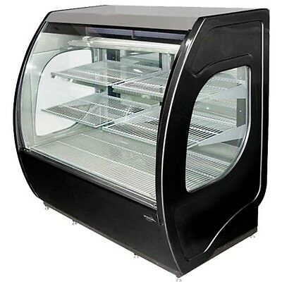 Fogel Elite-4-dc-b 4ft Black Elite Series Refrigerated Deli Display Case