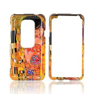For Sprint HTC EVO 3D Hard Protector Case Snap on Phone Cover Accessory Kiss