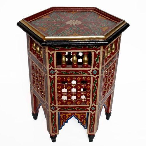 orientalischer tisch ebay. Black Bedroom Furniture Sets. Home Design Ideas