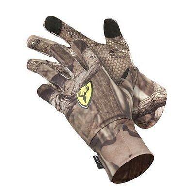 2031 Scentblocker Trinity Gloves w/ text Country Camo M/L