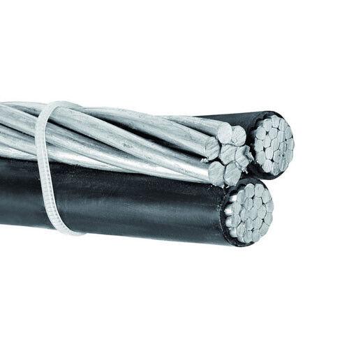 Per Foot Periwinkle 4-4-4 Aluminum Triplex Overhead Service Drop Cable 600v