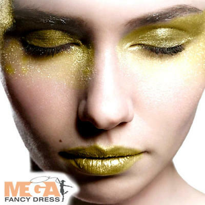 Gold Glitter Gel Face Paint Fancy Dress Fairy Tale Kids Adult Costume Make Up - Halloween Face Paint Fairy