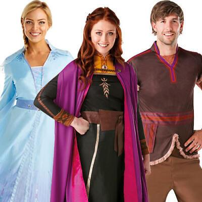Disney Princess Dress For Adults (Frozen Adults Fancy Dress Disney Princess Winter Fairy Tale Mens Ladies)