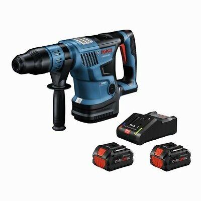 Bosch Gbh18v-36ck24 18v Cordless Sds-max 1-916 In Rotary Hammer Kit With 2 Batt