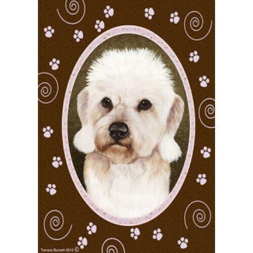 Paws House Flag - Mustard Dandie Dinmont Terrier 17210