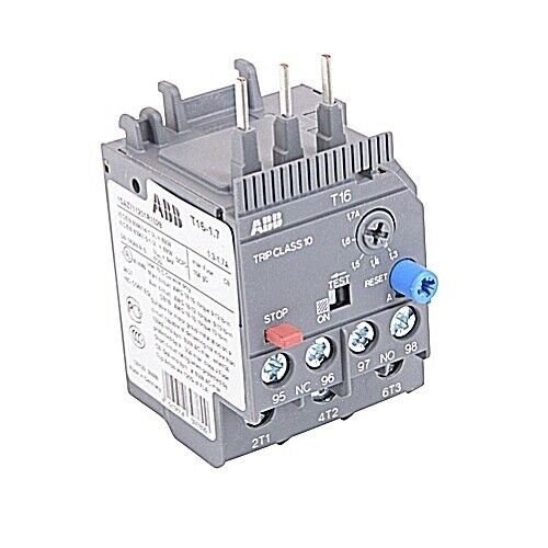 T16-1.7, ABB, Thermal Overload Relay 1.3-1.7