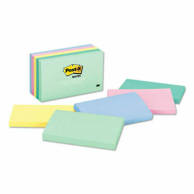 Post-it Notes 3x5 Pastel Colors Self-adhesive Marseille Collection 500 Count