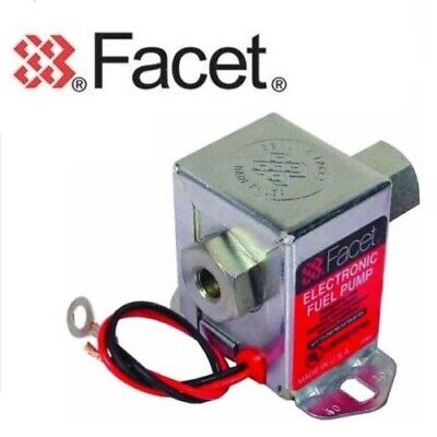 FACET 40105/SS501 12v Bomba Eléctrica Combustible 3-4.5 Psi