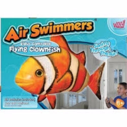 Air Swimmers Remote Control Flying Clownfish, Postage available.