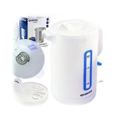 Hervidor de Agua 1.7L 2200W Base sin Cable Cierre Seguridad Apagado Automático