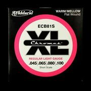 Flatwound Bass Strings Short Scale