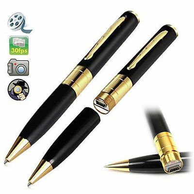 New32 GB secret CCTV Mini HD  Pen Camera Video Recorder DC USB DVR Writing Pen