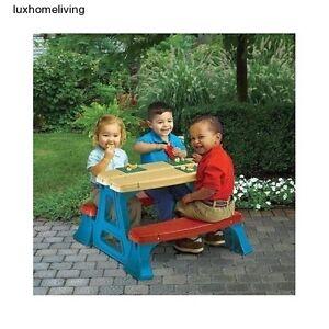 Kids Picnic Table Ebay