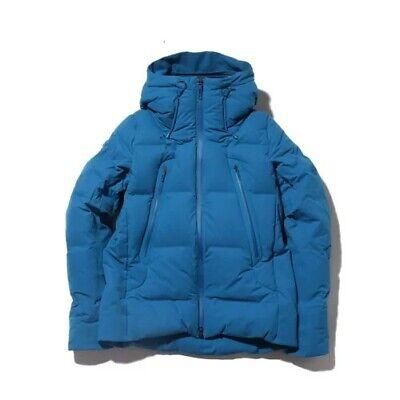 $1500 Descente Allterrain Men's Mizusawa Down Coat Parka Mountaineer Blue Sz S